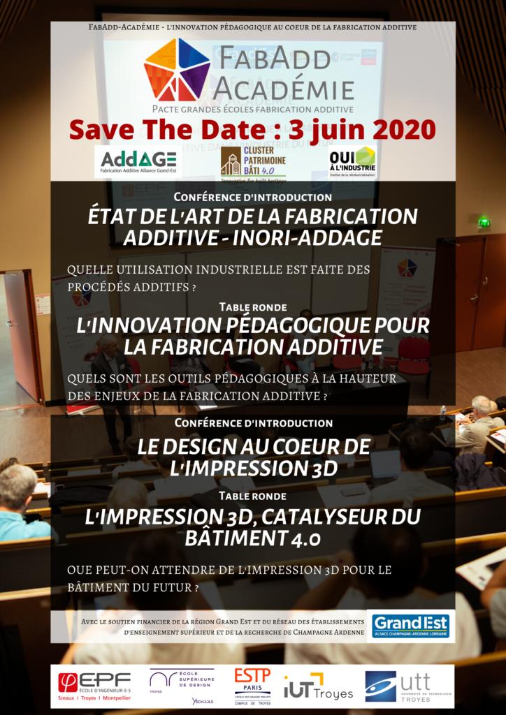STD - FabAdd-Académie - édition 2